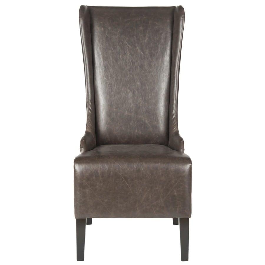 Safavieh Mercer Antique Brown Side Chair