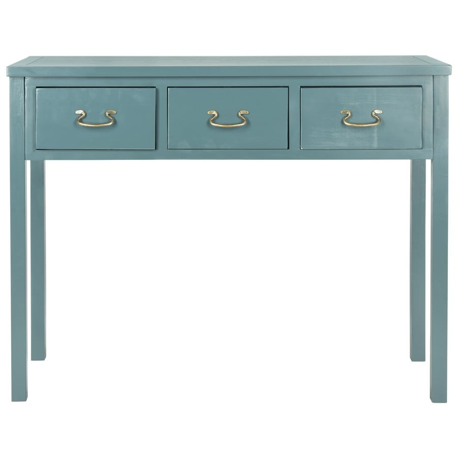 Safavieh Cindy Teal Pine Console Table
