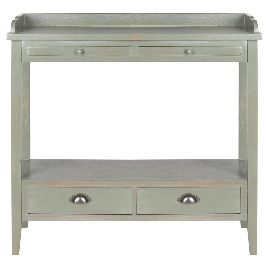 Safavieh American Home French Gray Elm Rectangular Console Table