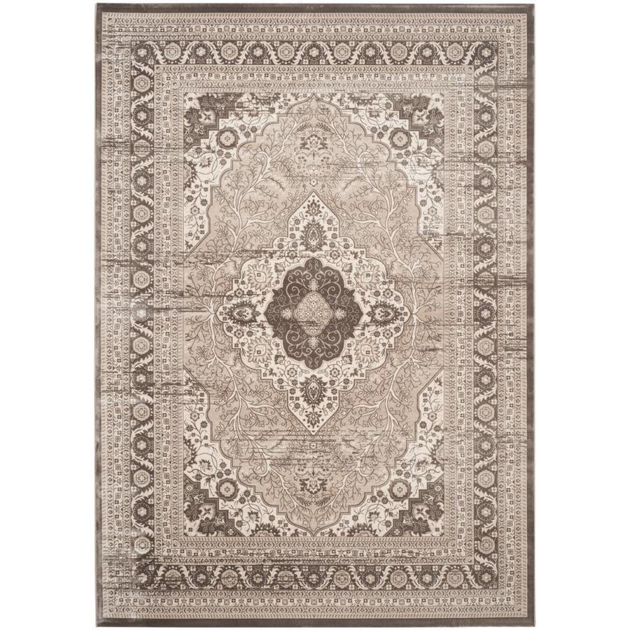 Safavieh Vintage Sultan Beige/Light Brown Indoor Distressed Area Rug (Common: 8 x 11; Actual: 8-ft W x 11-ft L)