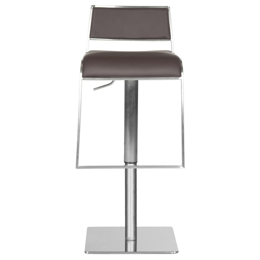 Safavieh Fox Brown 38.6-in Adjustable Kitchen Stool