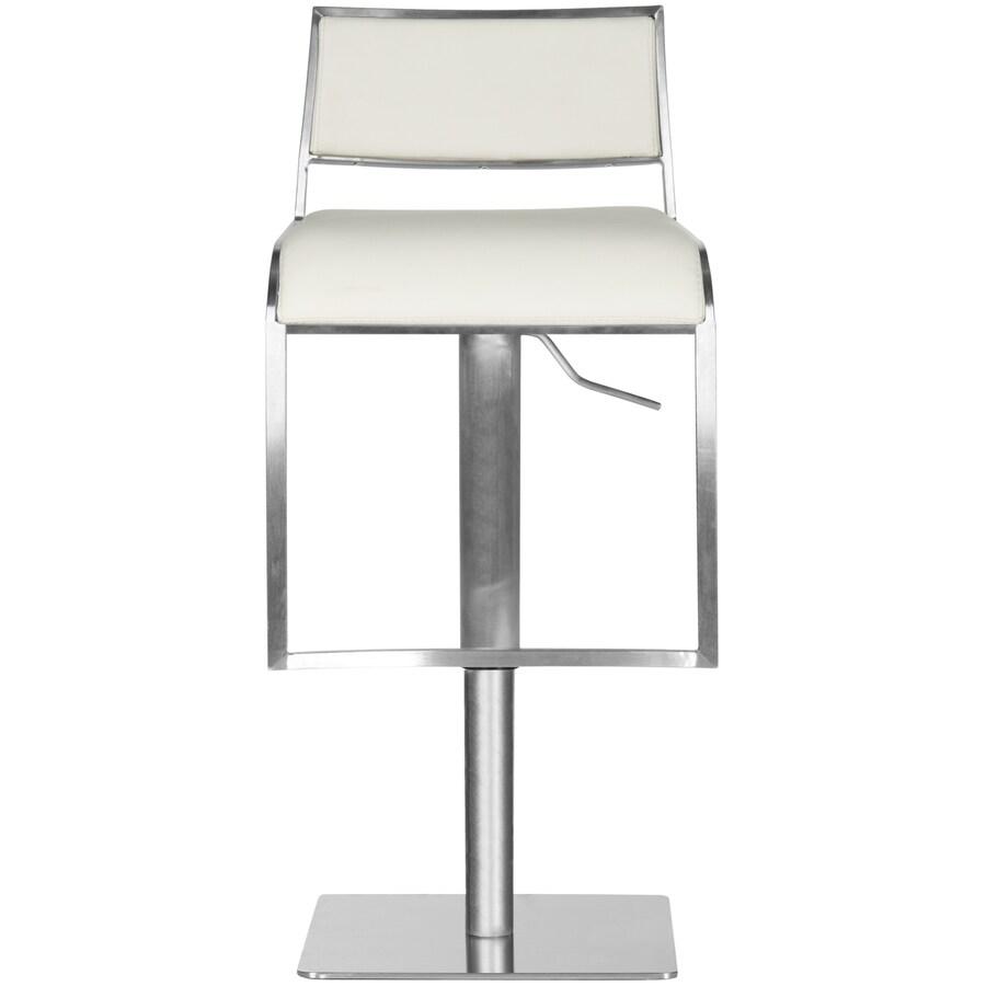 Safavieh Natania Modern White Adjustable Stool
