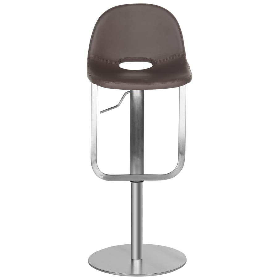 Safavieh Andrina Modern Brown Adjustable Stool