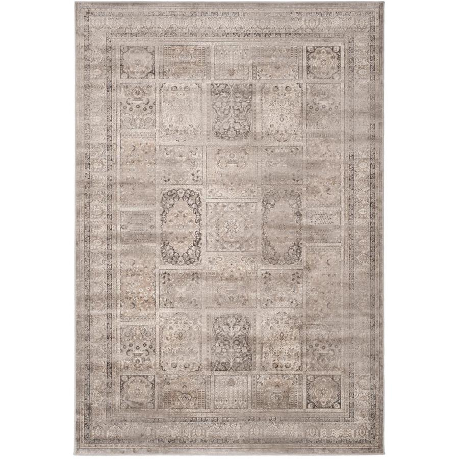 Safavieh Vintage Mouse Rectangular Indoor Machine-Made Distressed Area Rug (Common: 10 x 14; Actual: 10-ft W x 14-ft L)