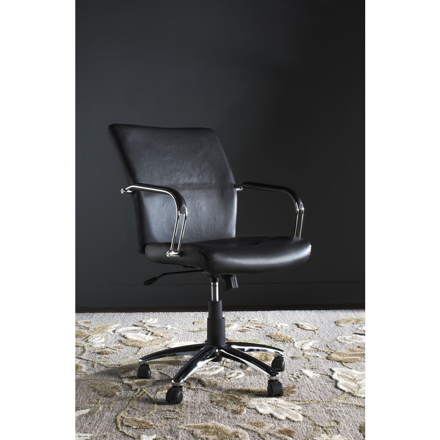 Safavieh One Fox Black Synthetic Executive Office Chair