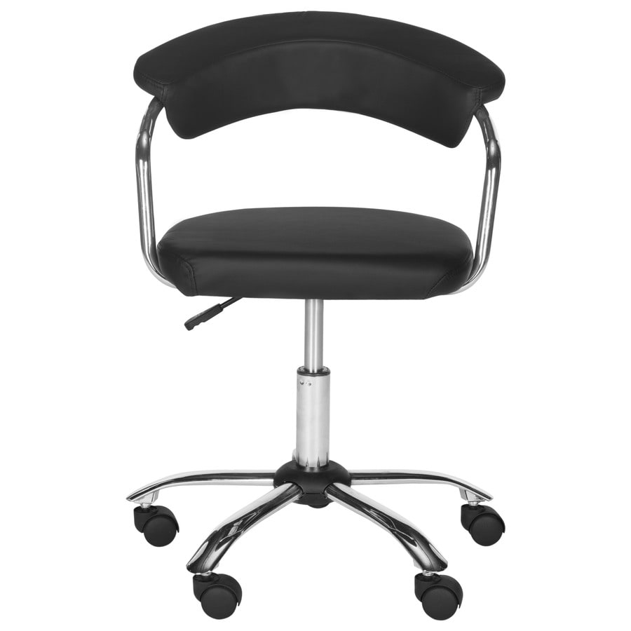 Safavieh Pier Black Contemporary Desk Chair