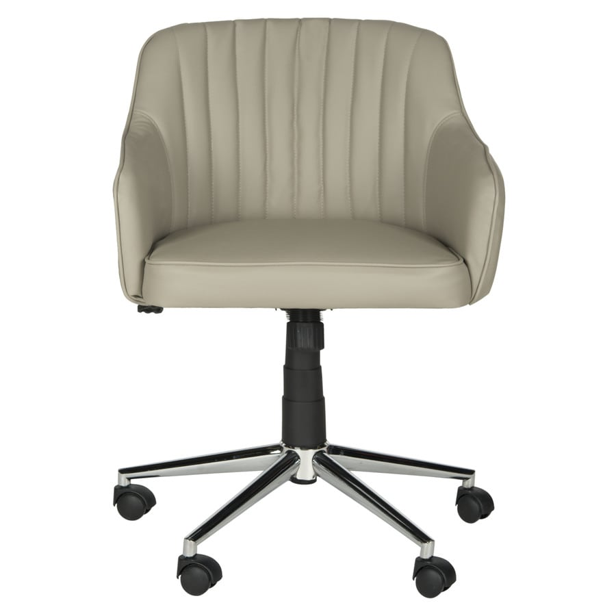 Safavieh One Fox Gray Synthetic Manager Office Chair