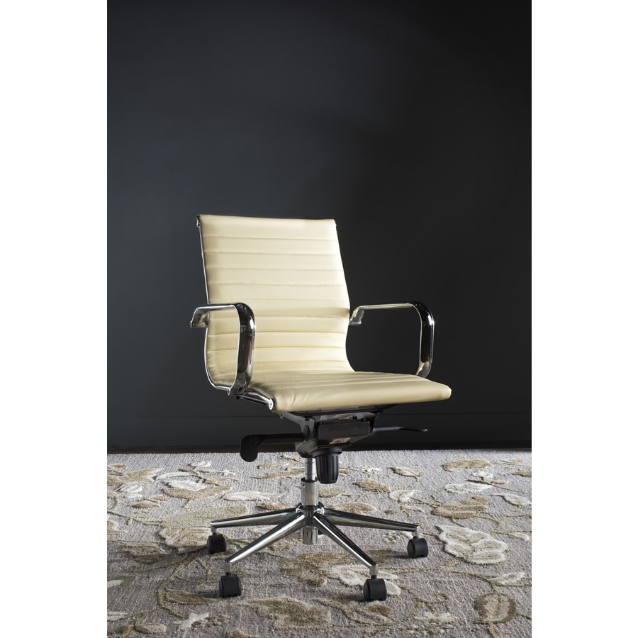 Safavieh Loreley White Contemporary Desk Chair