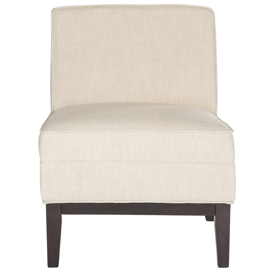 Safavieh Armond Casual Wheat Linen Accent Chair