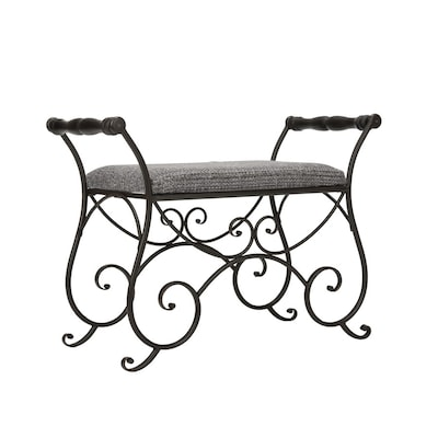 Prime Safavieh American Home Black Iron Indoor Entryway Bench At Caraccident5 Cool Chair Designs And Ideas Caraccident5Info