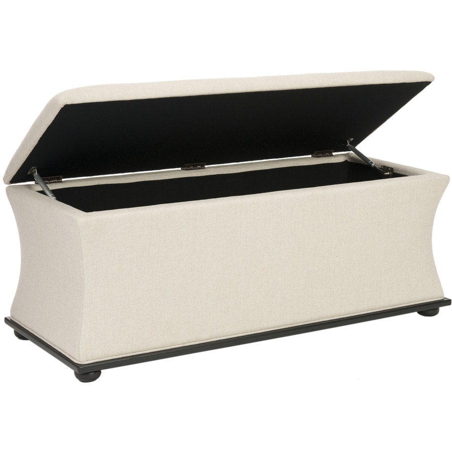 Safavieh Aroura Transitional Beige Storage Bench