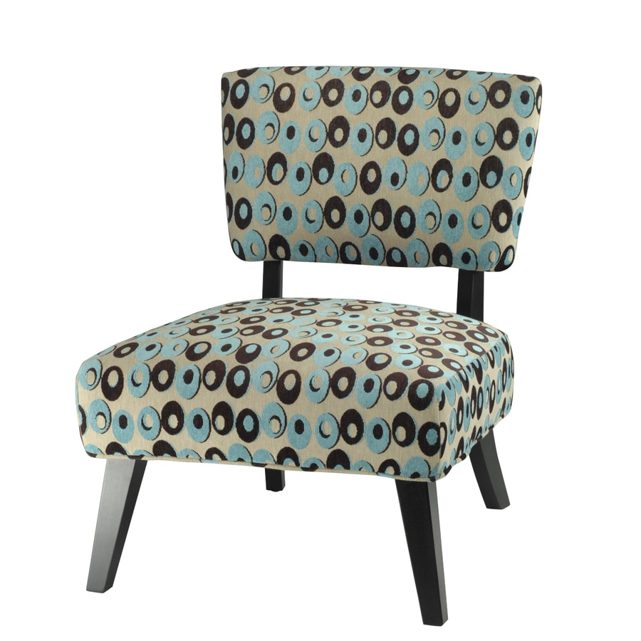 Turquoise and brown accent chair - Safavieh Hudson Collection Turquoise Accent Chair