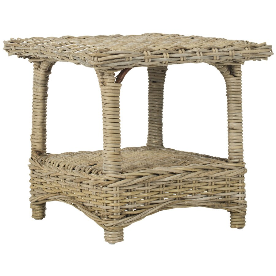 Safavieh Fox Home Natural Bamboo Square End Table
