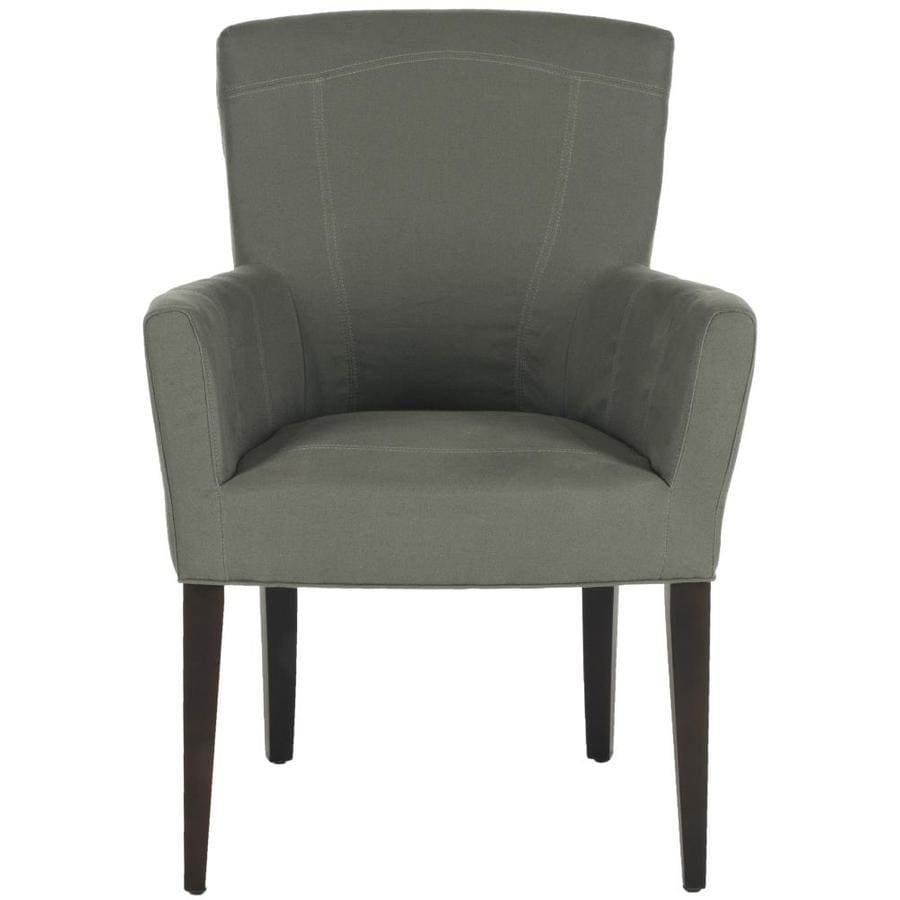 Safavieh Dale Casual Sea Mist Faux Leather Accent Chair