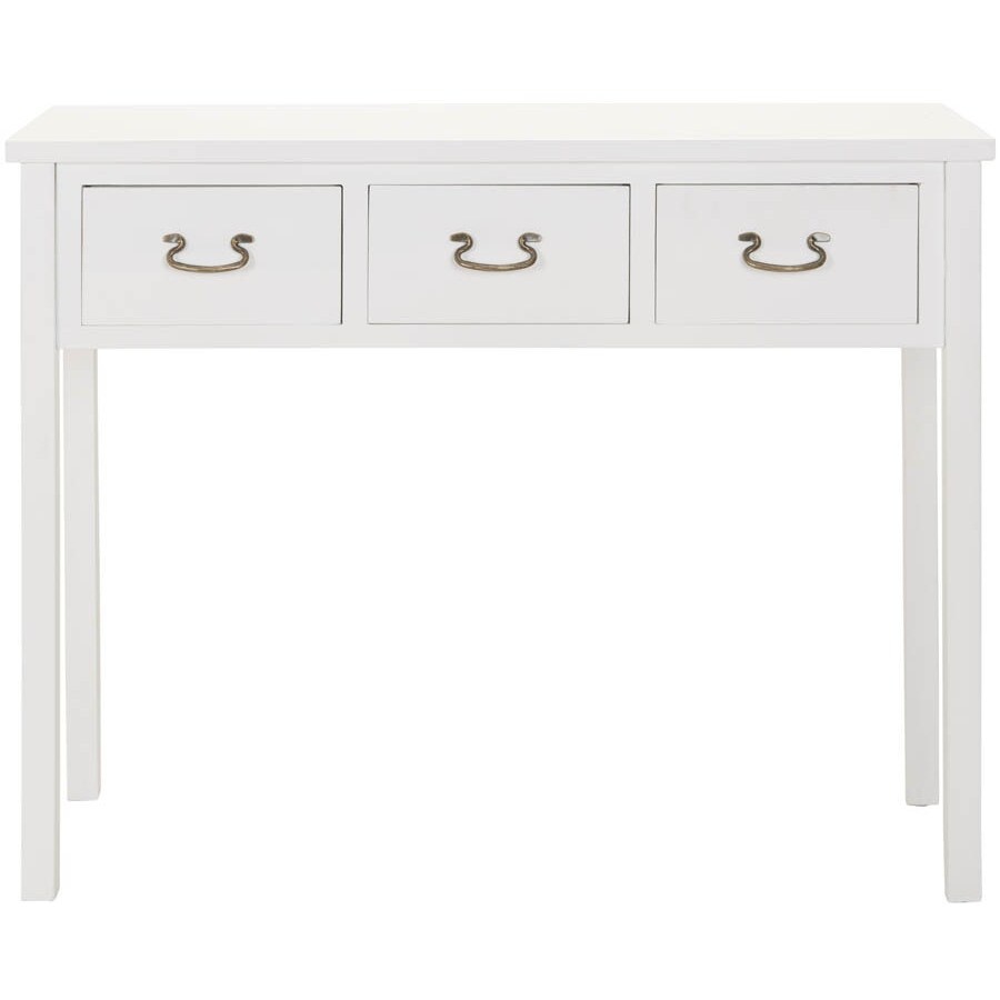Safavieh American Home White Poplar Rectangular Console and Sofa Table