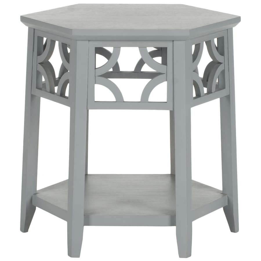 Safavieh Matthew Pearl Blue Gray End Table