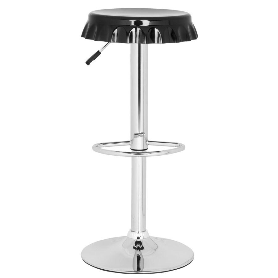 Safavieh Bunky Modern Black Adjustable Stool