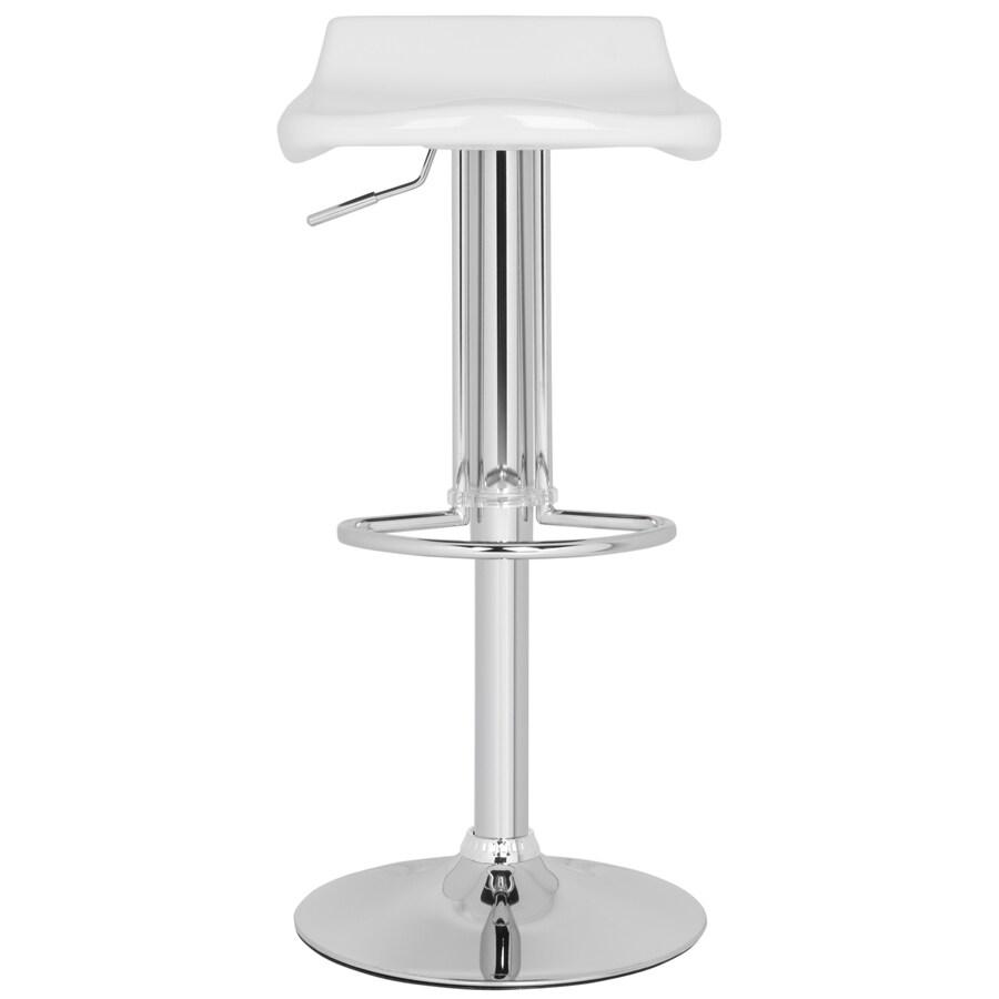 Safavieh Avish Modern White Adjustable Stool
