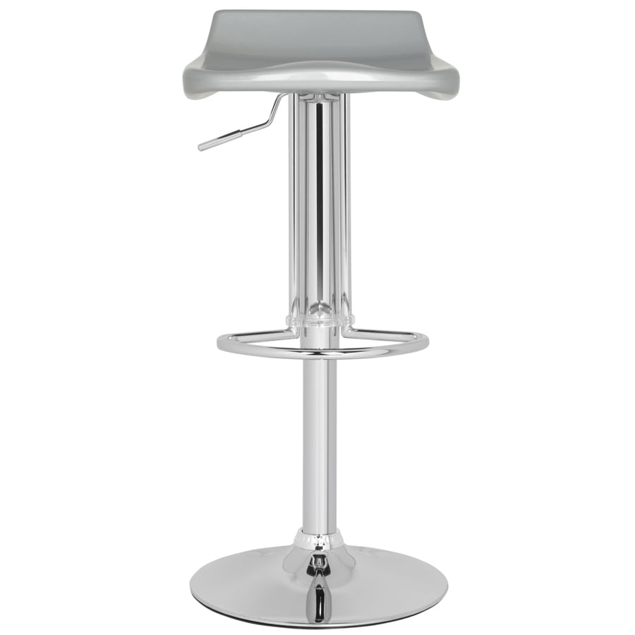 Safavieh Avish Modern Silver Adjustable Stool