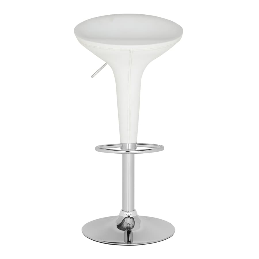 Safavieh Shedrack Modern White Adjustable Stool