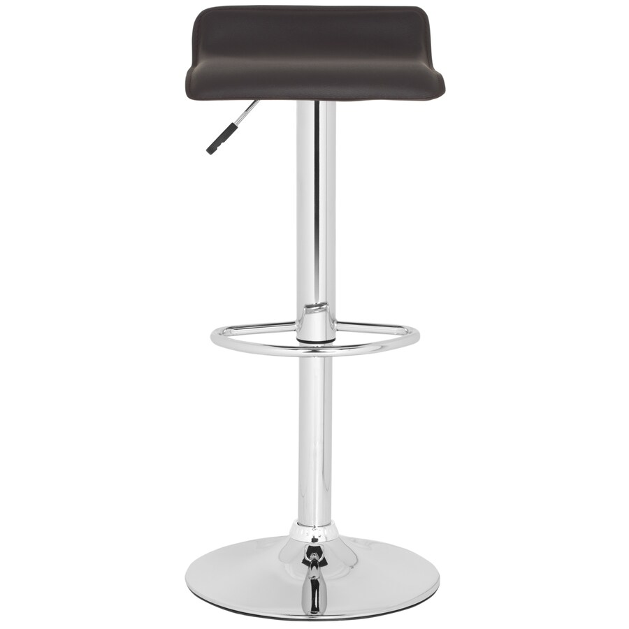 Safavieh Fox Brown 30.4-in Adjustable Kitchen Stool