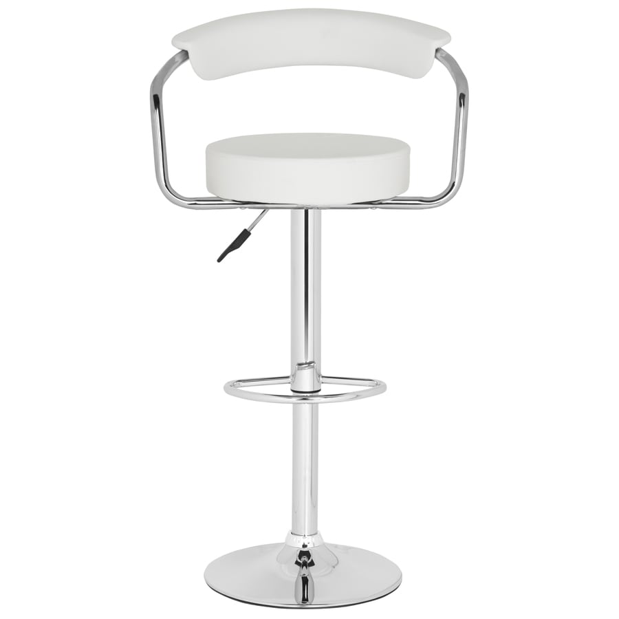 Safavieh Angus Modern White Adjustable Stool