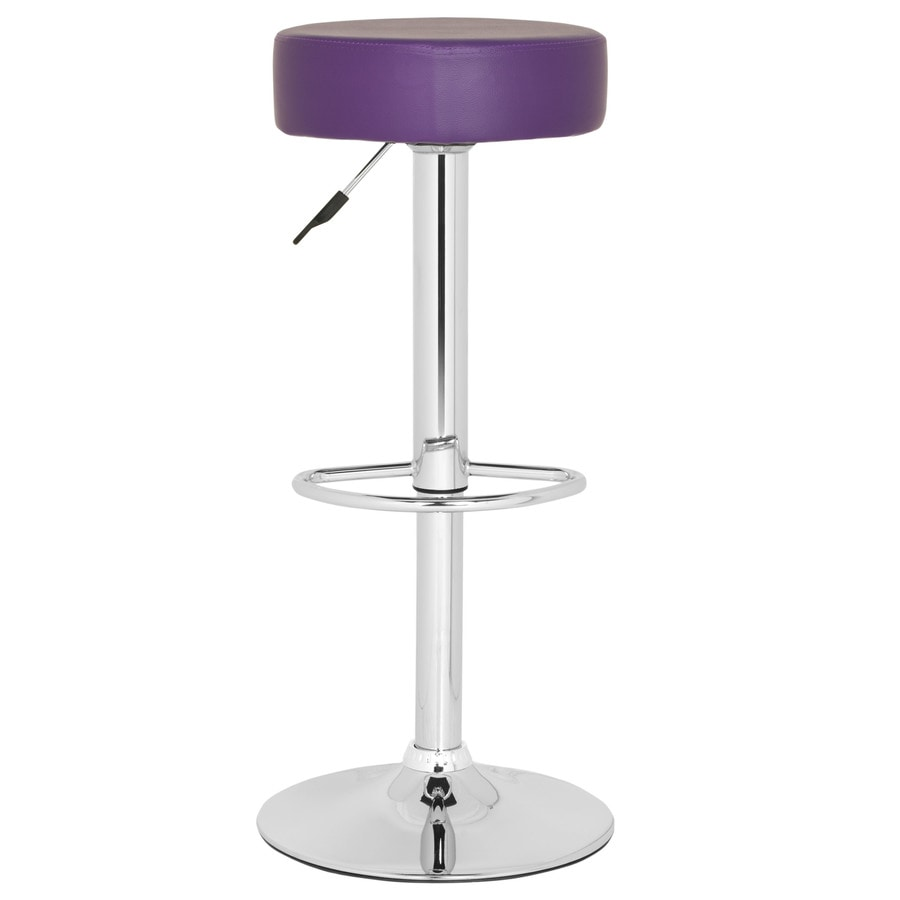 Safavieh Jude Modern Purple Bar Stool