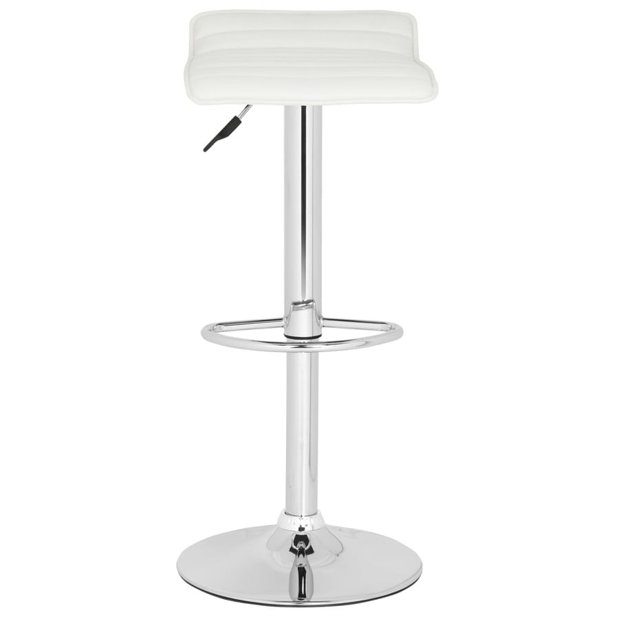 Safavieh Kemonti Modern White Adjustable Stool
