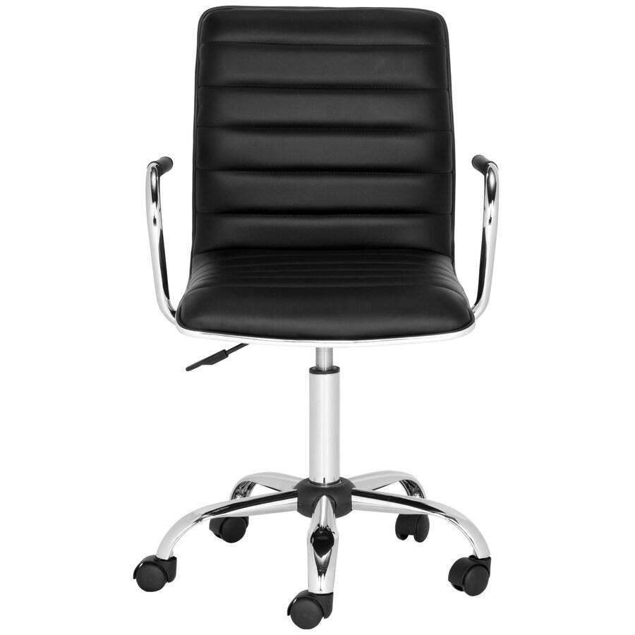 Safavieh Jonika Black Contemporary Desk Chair