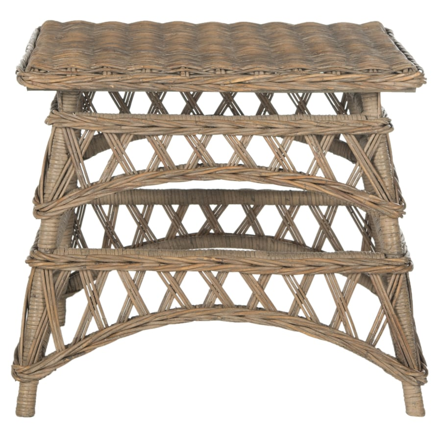 Safavieh Southeast Asia Natural Square End Table