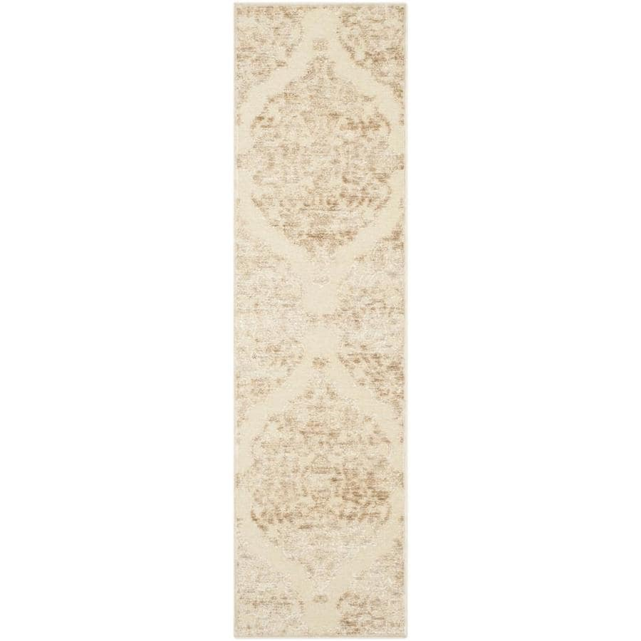 Safavieh Paradise Sawyer Stone Rectangular Indoor Machine-made Distressed Runner (Common: 2 x 8; Actual: 2.167-ft W x 8-ft L)