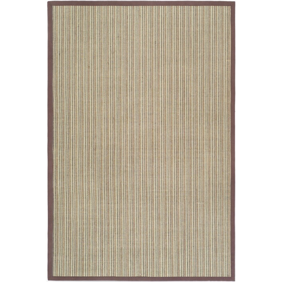 Safavieh Natural Fiber Groves Blue/Purple Indoor Coastal Area Rug (Common: 5 x 8; Actual: 5-ft W x 8-ft L)