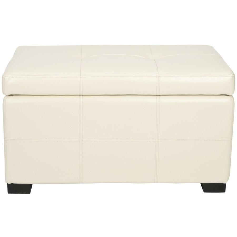 Safavieh Maiden Small Transitional Flat Cream Storage Bench