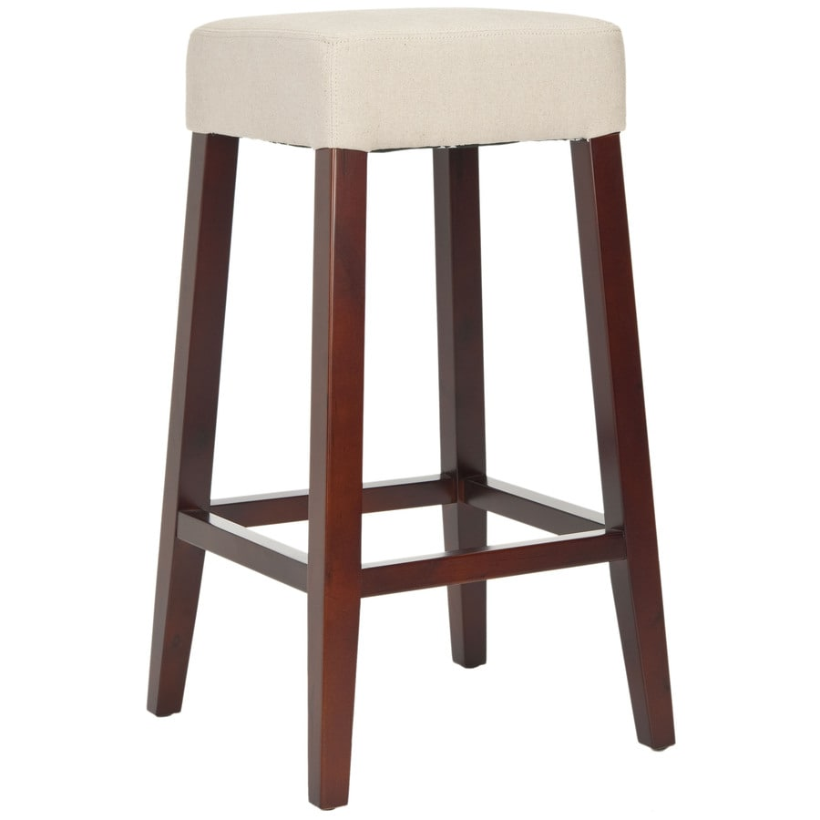 Safavieh Mercer Modern Beige 30-in Bar Stool