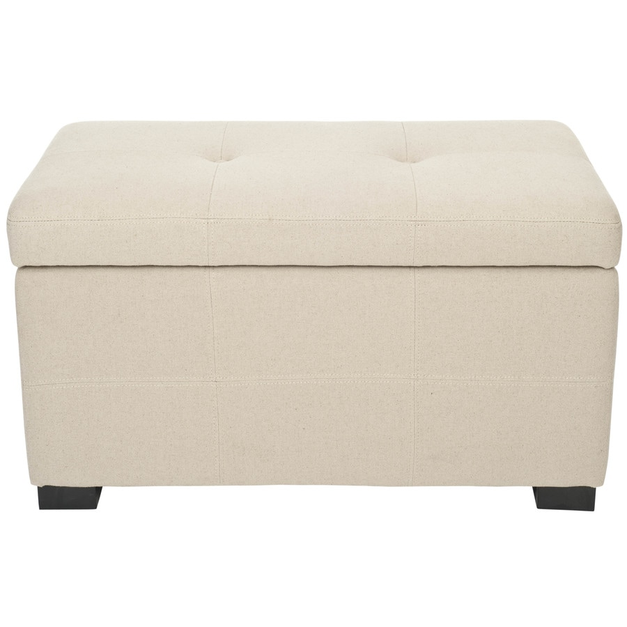 Shop Safavieh Maiden Small Transitional Beige Storage