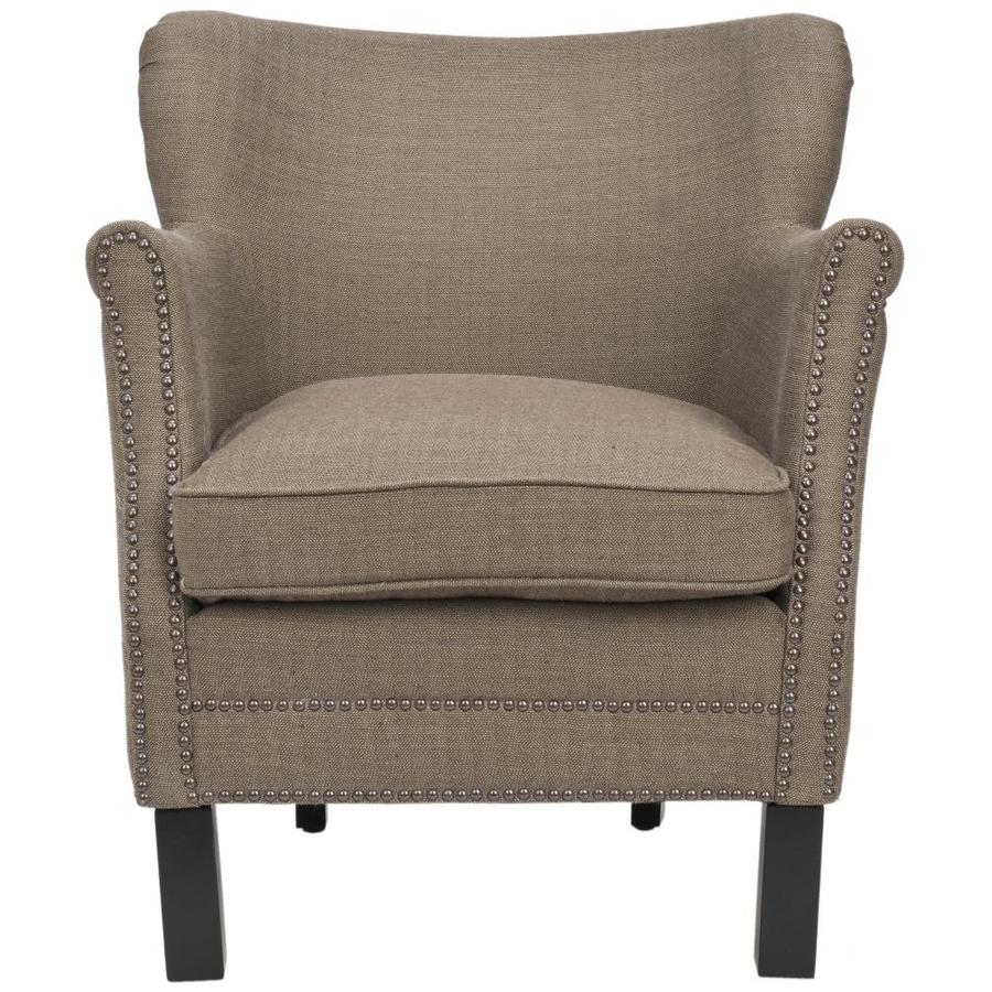Safavieh Jenny Casual Brown Accent Chair