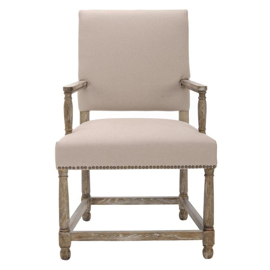 Safavieh Mercer Beige Accent Chair