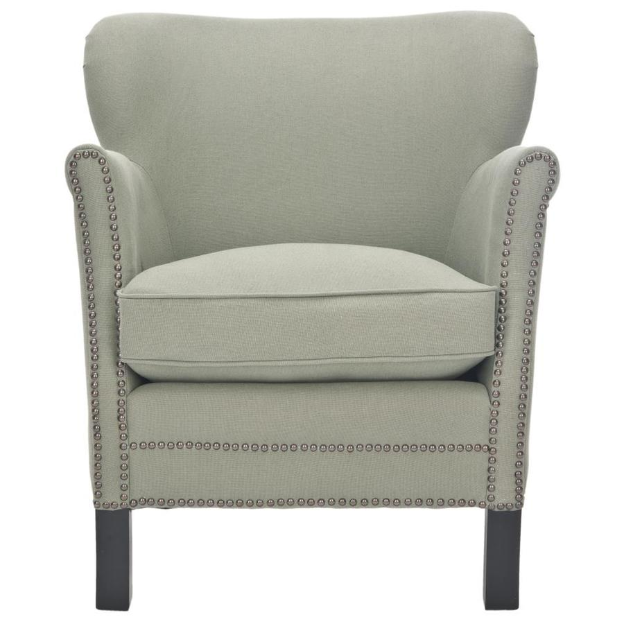 Safavieh Jenny Casual Sea Mist Linen Accent Chair