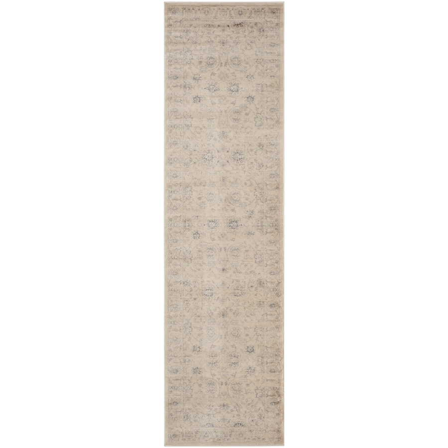 Safavieh Vintage Creme Rectangular Indoor Machine-Made Runner