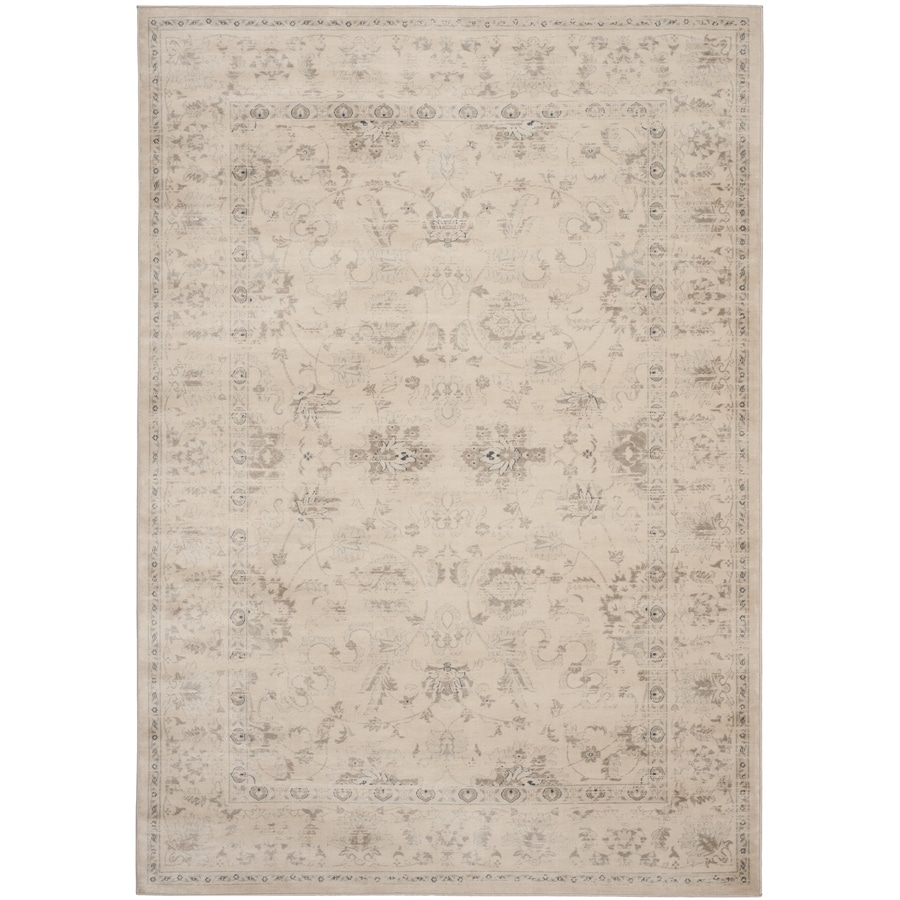 Safavieh Vintage Dream Crme Indoor Distressed Area Rug (Common: 7 x 9; Actual: 6.7-ft W x 9.2-ft L)