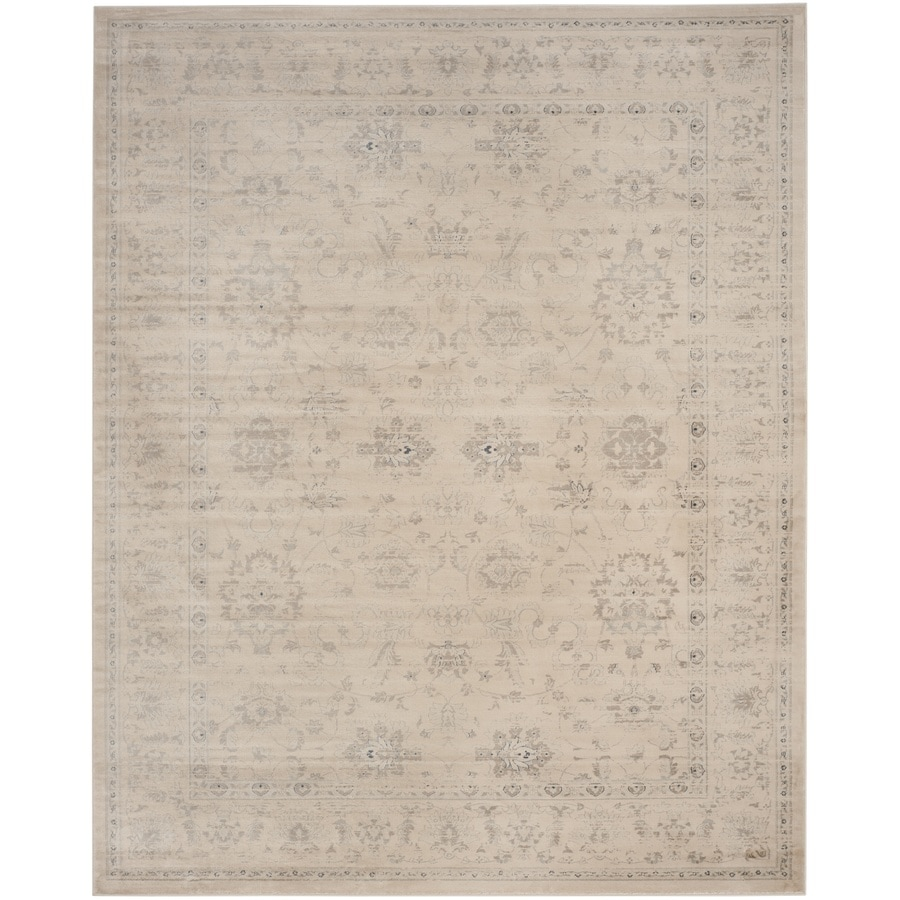 Safavieh Vintage Dream Crme Rectangular Indoor Machine-made Distressed Area Rug (Common: 8 x 11; Actual: 8-ft W x 11-ft L)