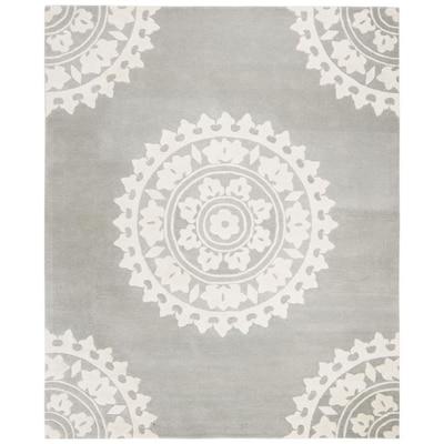 Safavieh Soho Light Gray/Ivory