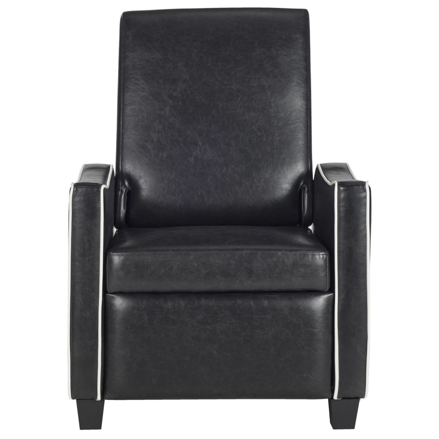 Safavieh Fox Black/White Accent Chair