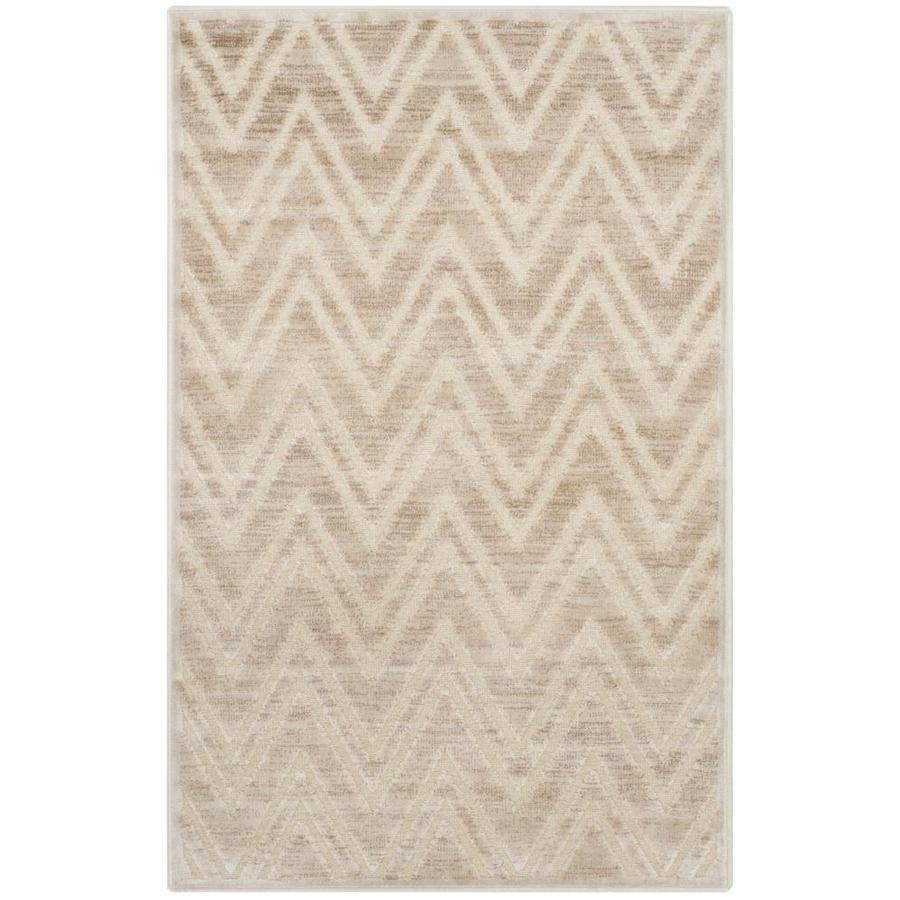 Safavieh Paradise Orion Stone Indoor Distressed Area Rug (Common: 4 x 6; Actual: 4-ft W x 5.6-ft L)