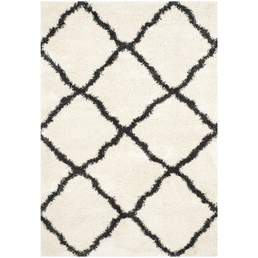 safavieh belize denby shag rectangular indoor machinemade moroccan area rug