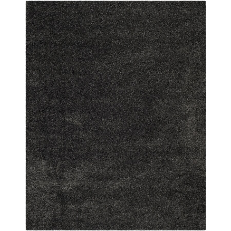 Shop Safavieh Milan Shag Dark Gray Indoor Area Rug Common