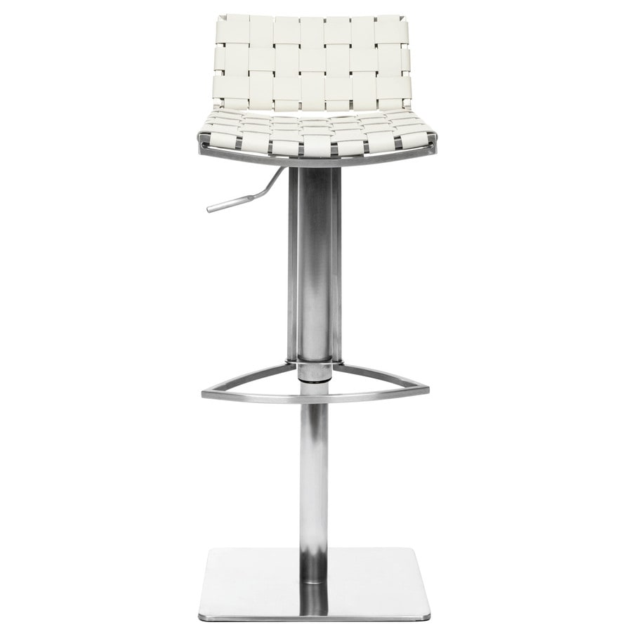 Safavieh Fox White 31-in Adjustable Stool