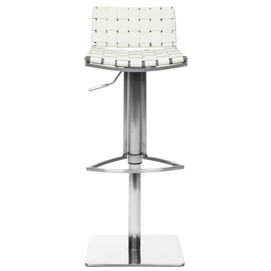 Safavieh Mitchell Modern White Adjustable Stool