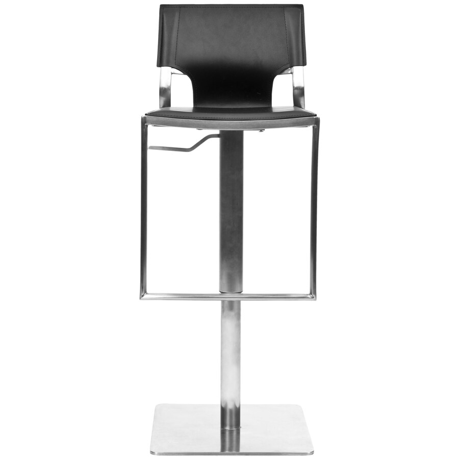 Safavieh Fox Black 30-in Adjustable Stool