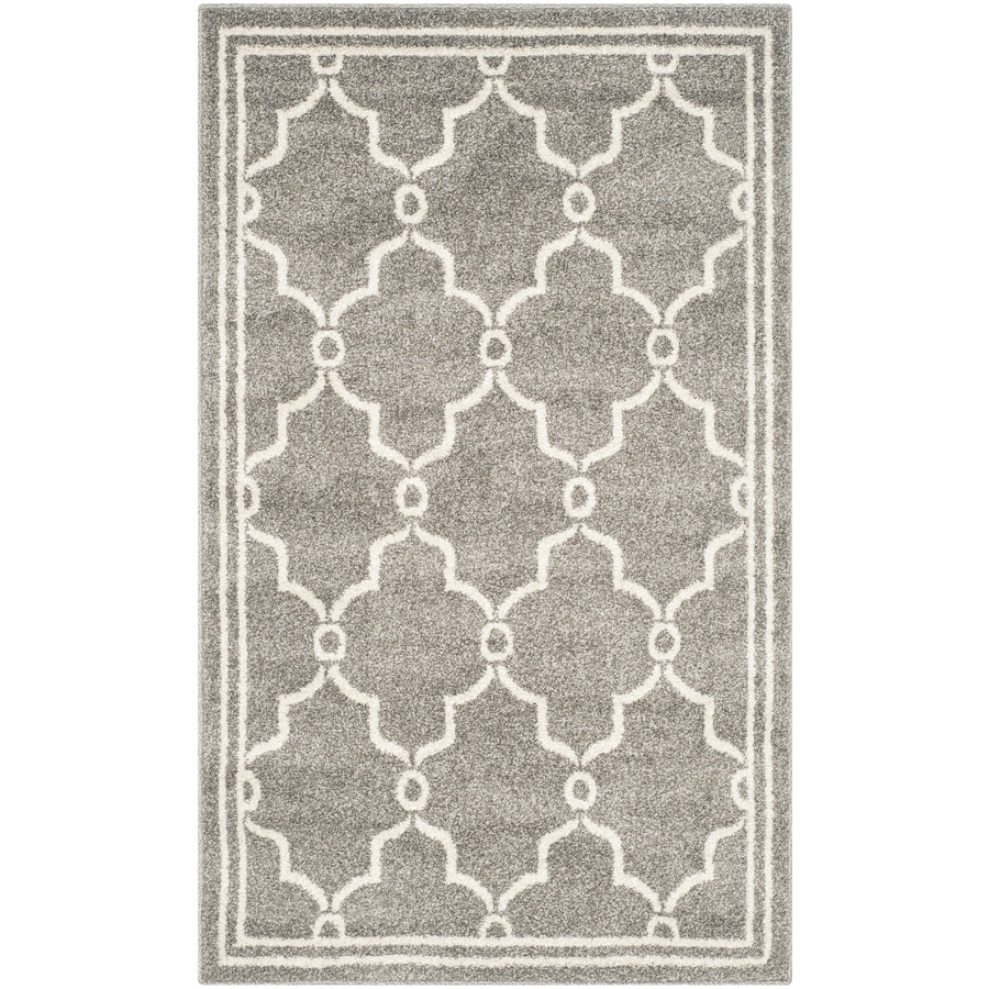 Safavieh Amherst Marion Dark Gray/Beige Indoor/Outdoor